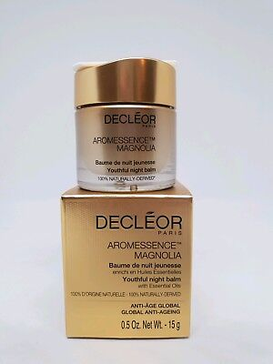 Decelor Aromessence Magnolia Youthful Night Balm 15g (RRP £60) New & Boxed