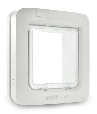SureFlap Microchip Pet Door - White - RRP: £129.90 Cat & Dog Flap 32 ID's