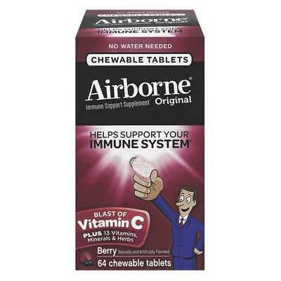 AIRBORNE 47865-18630 Tablet,Chewable,Berry