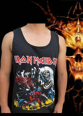 Iron Maiden Number Of The Beast Punk Rock Tank Top Mens Sizes