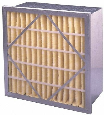"""Made in USA 12"""" Wide x 12"""" Deep Pleated Filter Polyester Synthetic, Micro Glass"""