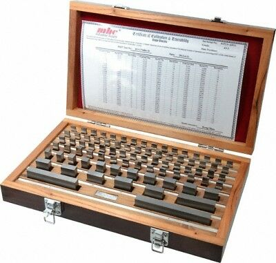 "Value Collection 81 Piece, 0.05 to 4"", Grade AS-2, Solid Carbide Gage Block S..."