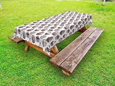 Cupcake Outdoor Picnic Tablecloth in 3 Sizes Washable Waterproof