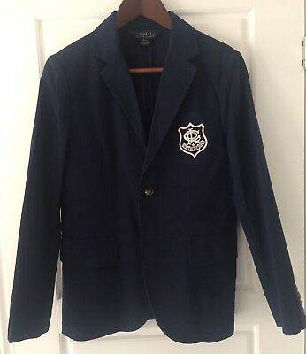 Ralph Lauren boys navy blazer - Size L (14-16) - New without tags