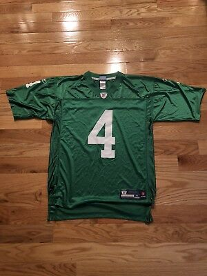 3ac06afad1b Philadelphia Eagles Vintage Throwback Jersey Wentz Foles Kelly Green Mens  Medium