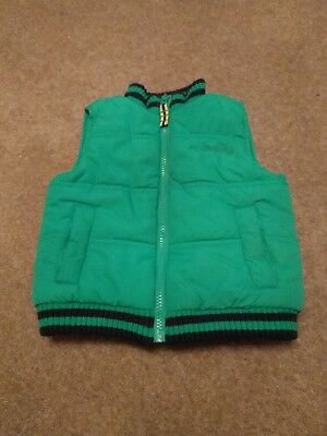 Emerald green body warmer from Blue Zoo to fit age 2-3 years