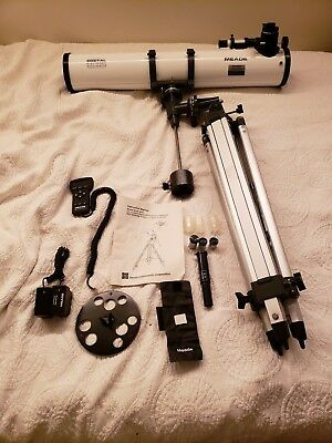 Meade 4504 Refracting Telescope with Star Finder Digital Electronic AutoLocator
