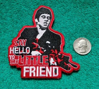 Scarface Military Morale Tony Montana Hook & Loop Military Patch