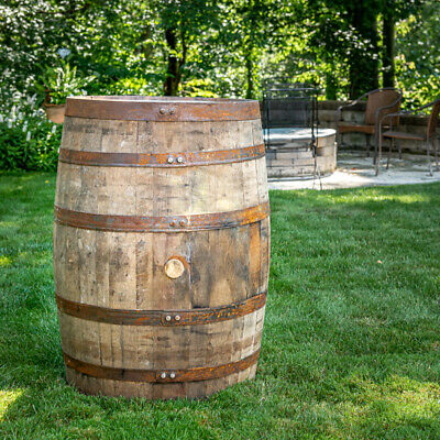 53 gallon Fresh-Dumped Whiskey Barrels  (Eastern 1/2 of US only!)