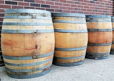 Used 59 gallon Wine Barrels - $50 delivery for 1 or more! (Eastern US only!)