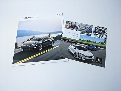 Genuine New 2018 Honda Clarity US Dealership Sales/ Accessory Brochure w/ Poster