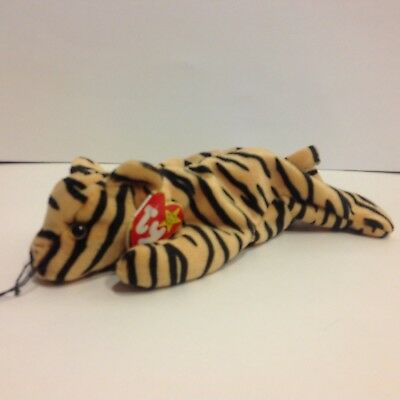 Ty Beanie Baby Stripes the tiger NWMT