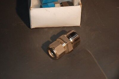 "Swagelok SS-810-1-12  1/2"" Compression Tube x 3/4"" Male Pipe NPT SS Adaptor"