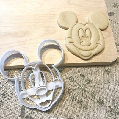 Mickey Mouse Cookie Cutter - Fondant Cake Cupcake Topper Baby Shower Birthday