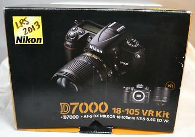 Nikon D7000 16.2MP Digital SLR Camera - (Kit w/ AF-S DX ED VR 18-105mm Lens)