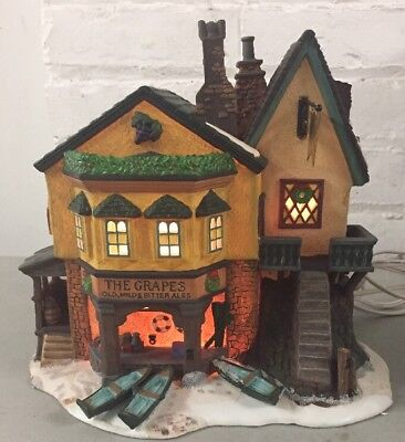 Dept 56 Dickens Village The Grapes Inn 5th Edition 1996 57534 - Works