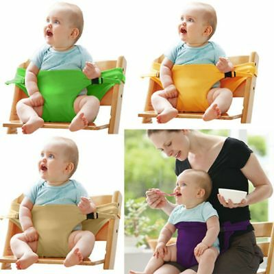 Portable Baby Seat Dining Chair Safety Belt High Chair Seat Harness Strap Cover
