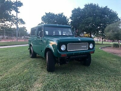 1969 International Harvester Scout 800 Classic 4 Speed 4x4 AWD 1969 INTERNATION HARVEST SCOUT 800 CLASSIC 4X4 AWD
