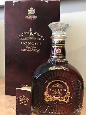 Johnnie Walker Honour Scotch Whiskey Rare and Old