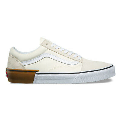 b7bdd500140 New VANS Womens GUM BLOCK Old Skool WHITE VN0A38G1U59 US W 5.5 - 8.5 TAKSE