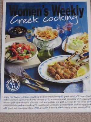 Australian  Womens Weekly Cookbook Greek Cooking Recipes  Greek  Cookery Chef