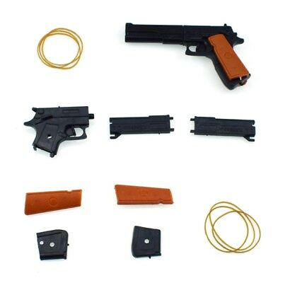Classic Assembly Rubber Band Gun Shooter Shooting Children Kid Toys Portable