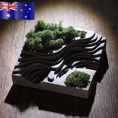 Terraces Shape Flower Pot Planter Mould - Silicone Concrete Moulds Mold - AU