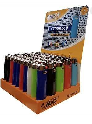50 X Bic Lighter J26 LARGE MAXI BIC Lighters
