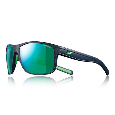 Julbo Unisex Renegade Spectron 3 CF Sunglasses Green Navy Blue Sports Running