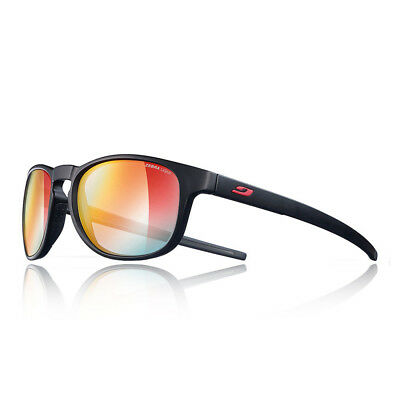 Julbo Unisex Resist Zebra Light Fire Sunglasses Black Red Sports Running