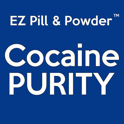 EZ Pill & Powder - COCAINE PURITY Drug Test