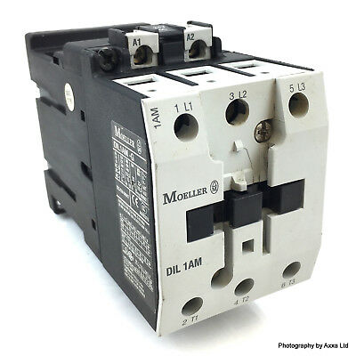 Contactor DIL1AM-G Moeller 18.5kW 24VDC DIL1AMG *New*