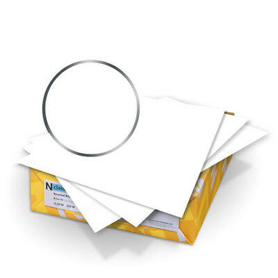 """New Conservation White PC 100 8.5"""" x 11"""" 80lb Covers - 50pk - Free Shipping"""