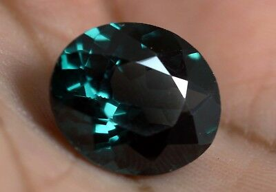Certified 7.60 Ct Oval Cut Color Change In Sunlight ALEXANDRITE Gemstone