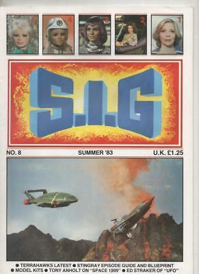 S.I.G. Magazine #8 Summer 1983 (Gerry Anderson) Very Fine condition