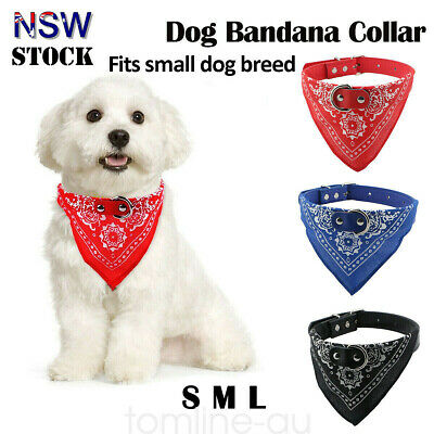Pet Dog Neck Scarf Bandana Accessories Puppy Cat Collar with Leather Adjustable