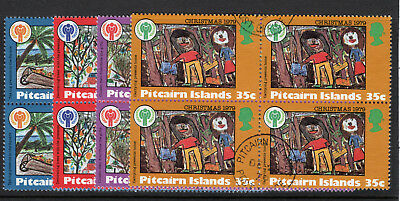 Pitcairn Islands 1979 Year of the Child set (block of 4) & m/sheet  FU