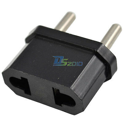 USA US/AU to EU Europe Travel Converter AC Power Plug Charger Adapter Connectors