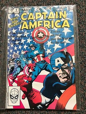 CAPTAIN AMERICA (Marvel Comics) KING-SIZE ANNUAL 6 (1982) NM