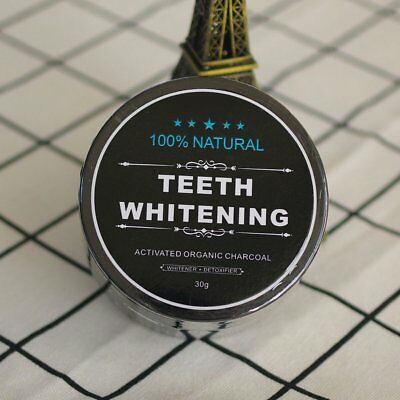 Activated Charcoal Toothpaste Teeth Whitening 100% Organic Coconut ShellPowder