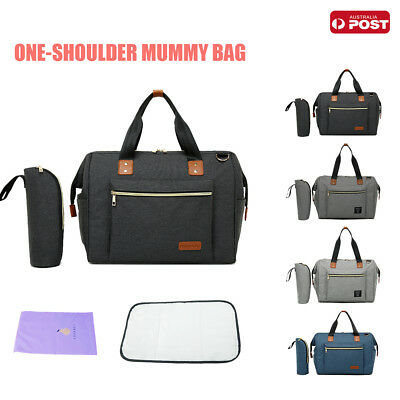 New Multifunctional Large Mummy Diaper Nappy Changing Baby Shoulder Travel Bag
