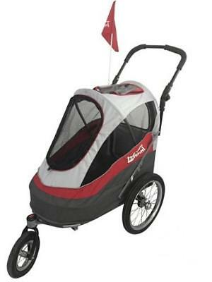 Durable and Multi-Functional Dog Bike Trailer or jogging pushchair. FREE...