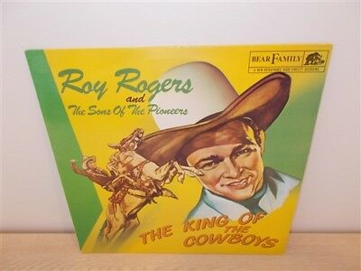 Roy Rogers & Sons Of Pioneers .The King Of The Cowboys . Bear Family / RCA . LP
