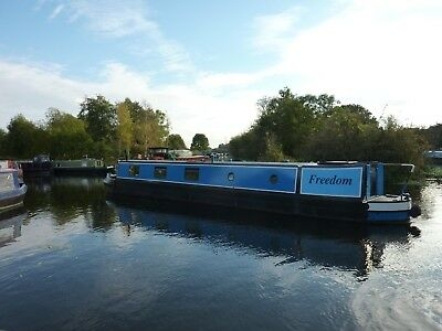 2004 57ft Trad Stern Canal Narrow Boat Narrowboat built by Steven Heywood