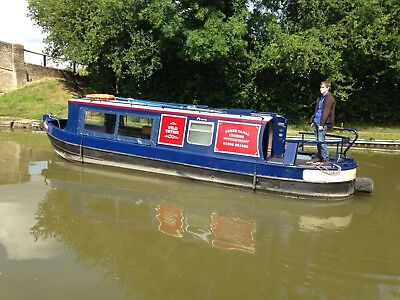 1986 30ft Cruiser Stern Canal Narrow Boat Narrowboat built bt Harborough Marine