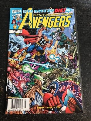 The Avengers#7 Incredible Condition 9.0(1998) Kree,George Perez Art