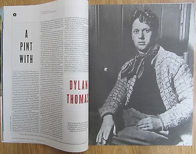 Travel Issue Literary Adventure - Dylan Thomas -The New Review – 2 February 2014