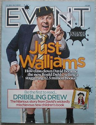 Books Special – David Walliams - Event Magazine – 15 May 2016