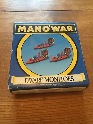 Warhammer Man O' War: Dwarf Monitors