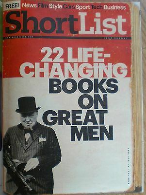 22 Life-changing books on Great men – Shortlist magazine – 24 July 2014